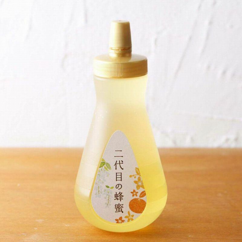 二代目の蜂蜜450gボトルタイプ