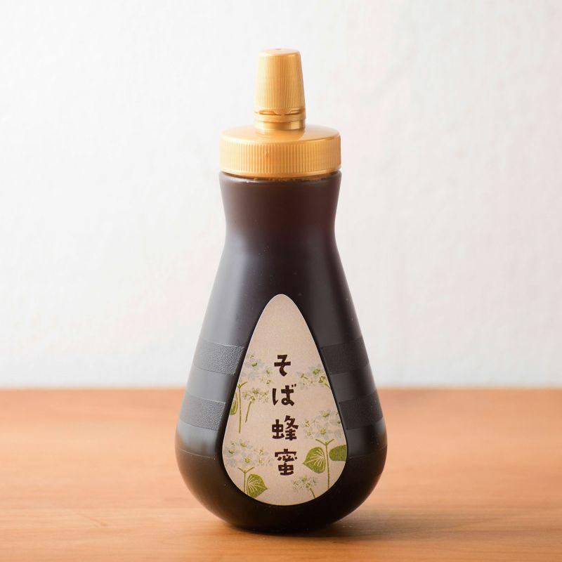国産そば蜂蜜 450gボトルタイプ