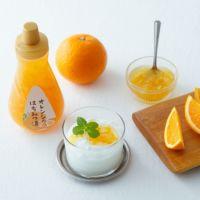 オレンジのはちみつ漬ティーセット